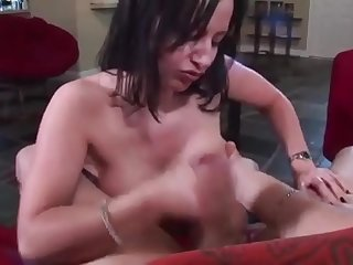 stepmom gives a hand help to her stepson