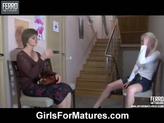 Leonora&Hilda lesbian mom on video