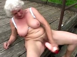 Check out this dirty grandma
