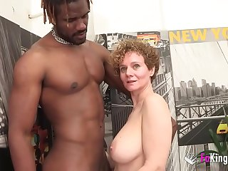 Busty Mercé_ starts new year by GETTING DRILLED BY A BBC
